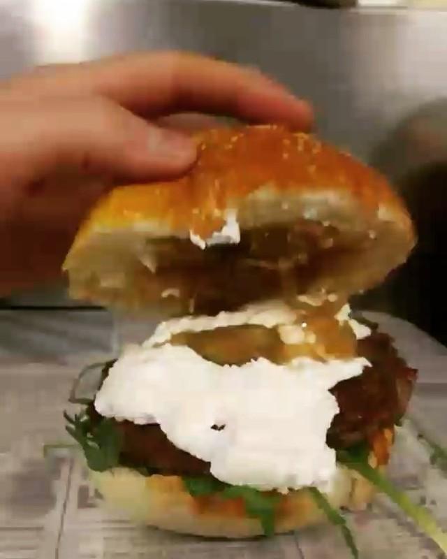 Burger chèvre frais