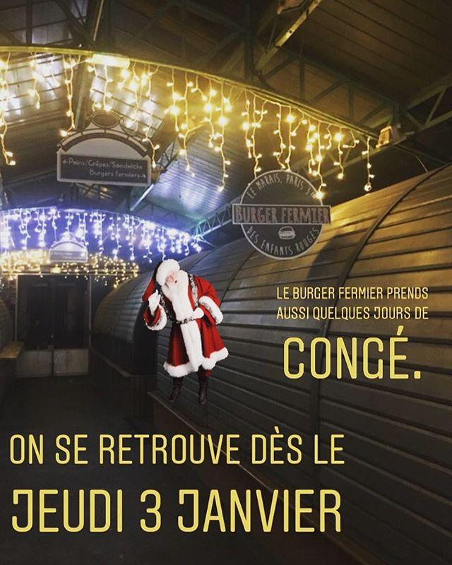#burger #leburgerfermier #burgerfermierdesenfantsrouges #lemarais #paris3 #parisfood #foodporn #merrychristmas